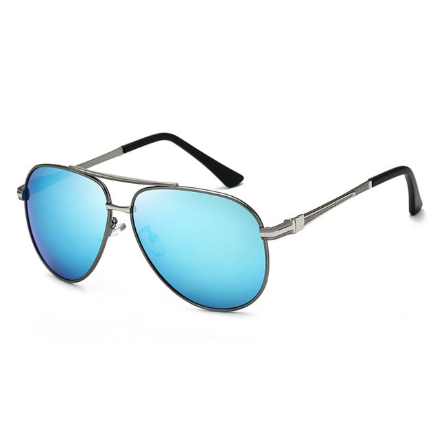 Classic Polarized Pilot Sunglasses Men Aviation Frame Sun glasses