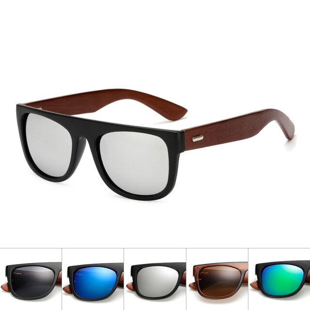 bamboo brand designer high quality goggles mens ladies sun glasses