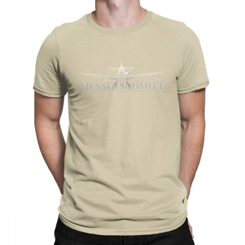 100% Cotton Funny T-Shirt O Neck Luftwaffe