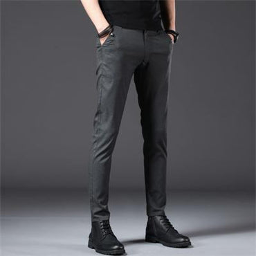 Quick Drying Casual Slim Tapered Stretchy Casual Pants