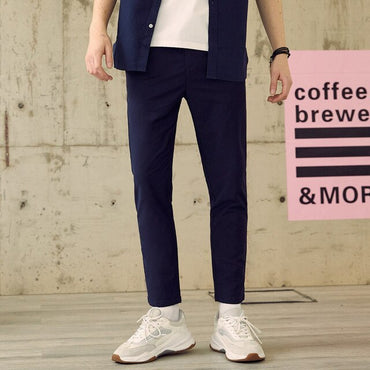 Smart Casual  Slim Fit Chinos Fashion Straight  Pants