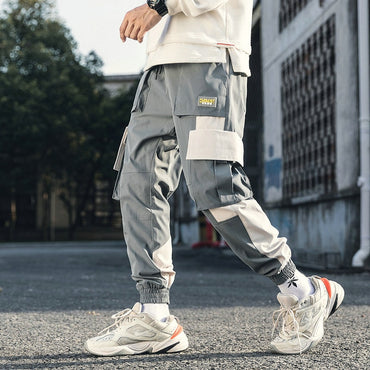 Cotton Streetwear Hip Hop Cargo Pants