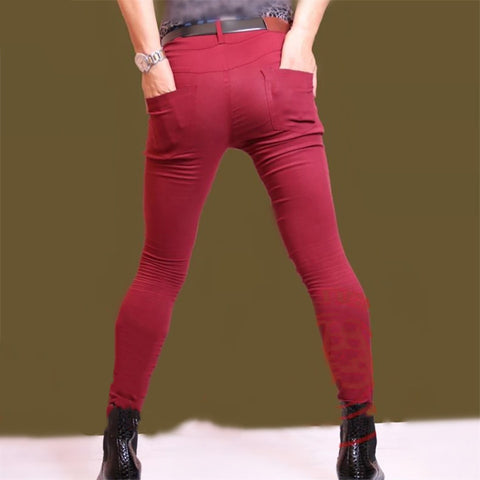 Silm Full Length Jeans Leggings Fashion Solid Skinny Pencil Pants