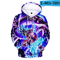 Harajuku Hoodie Dragon Ball Hooded Sweatshirt   Hoodies