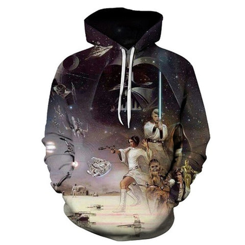 3d Hoodies Star Wars Printing Hoodies