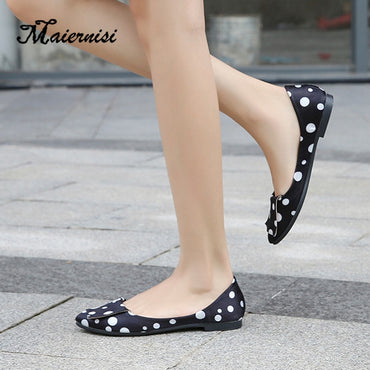 Slip On Flat Shoes