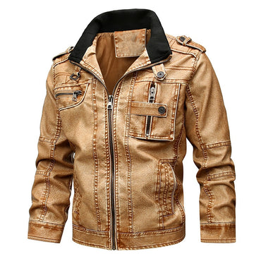 Zipper Hooded Jacket Long Sleeve Solid Color Casual Jacket Coats