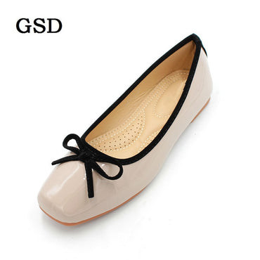 Square Toe Shallow Single flat shoes