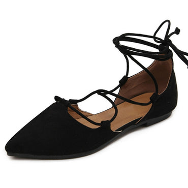 Slim Sexy Pointed toe Flats Shoes