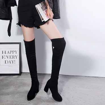High Heels Pointed Toe Over The Knee Boots