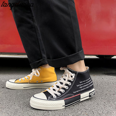 Casual Canvas Shoes Vulcanized  Shoes & Sneakers