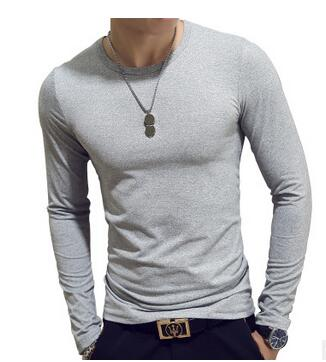 Casual Long Sleeve Slim t-shirt