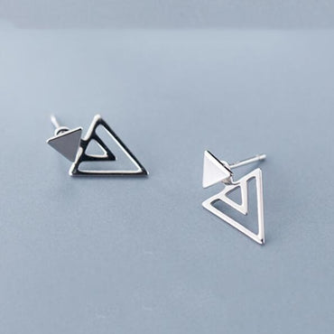 100% Real 925 Sterling Silver Earring