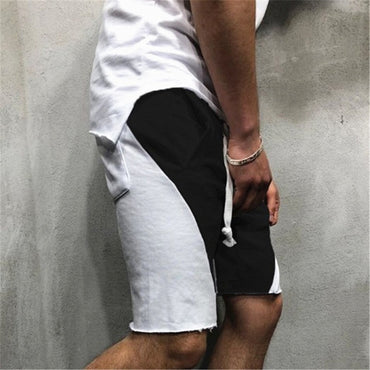 Cotton Loose Patchwork  Casual Shorts