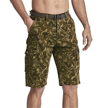 Casual Camouflage Cargo Shorts