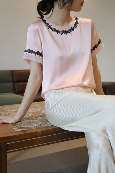 Natural Silk Tops and Blouses