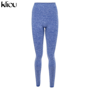 high waist fitness elastic skinny sportswear slim active wear leggings