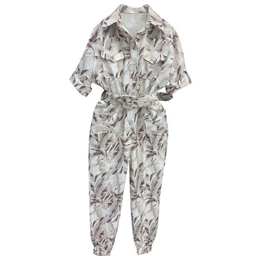 Casual Print Jumpsuits