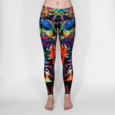 figure-flattering s air-permeable running sweat-absorbing seven-point  pants leggings