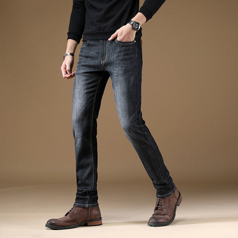 Casual Business Warm Jeans