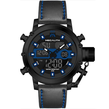 Sport Waterproof Multi-function Luminous Dual Display  watch