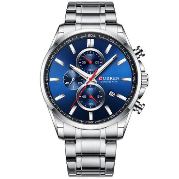 Stainless Steel Big Sport Wrist watch
