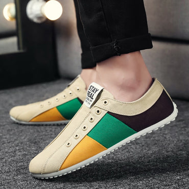Casual Shoes Slip-on Walking Canvas Shoes