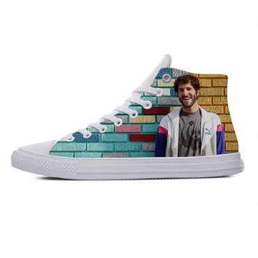 Hip Hop Rapper Singer Lil Dicky Hot Cool Casual Canvas Shoes