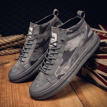 Mid-Top Young Casual Footwear Shoes