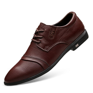 Snakeskin genuine Leather  Oxford Shoes