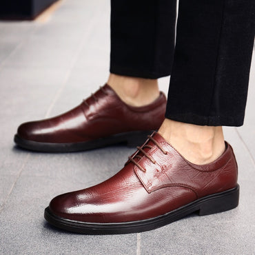 outdoor luxury brand formal genuine leather oxford shoes