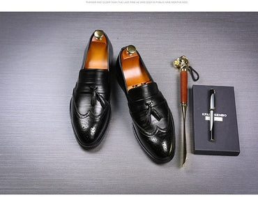 Leather Business Office Oxford Shoes