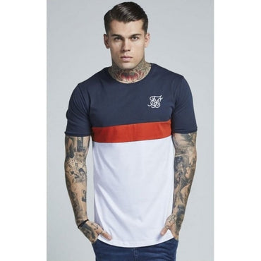 Casual Short Sleeve Sik T Shirt