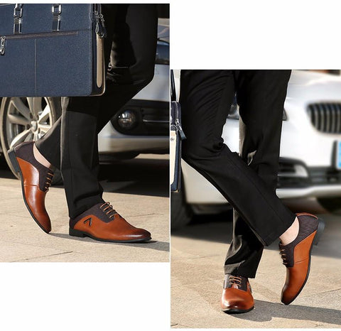 Fashion Luxuary Design Men Leather Shoes