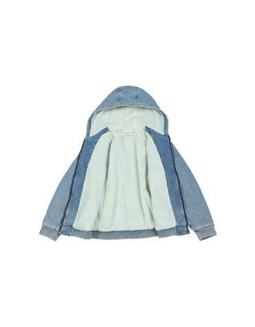 fleece inner Denim Jackets