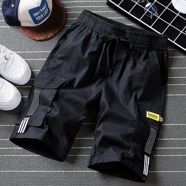 sweat hip hop streetwear military cotton shorts