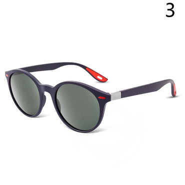 Vintage Round Frame Driving SunGlasses