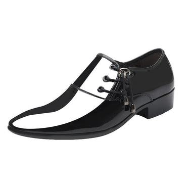 Patent Leather Dress Oxford Shoes