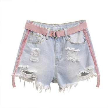 High Wiast  Denim Shorts