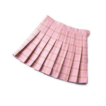 High Waist Chic Student Pleat Skirts