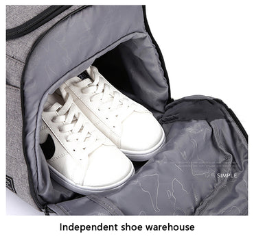 Multifunction Gym Bags with Shoes Storage Outdoor Travel Backpack  Handbags