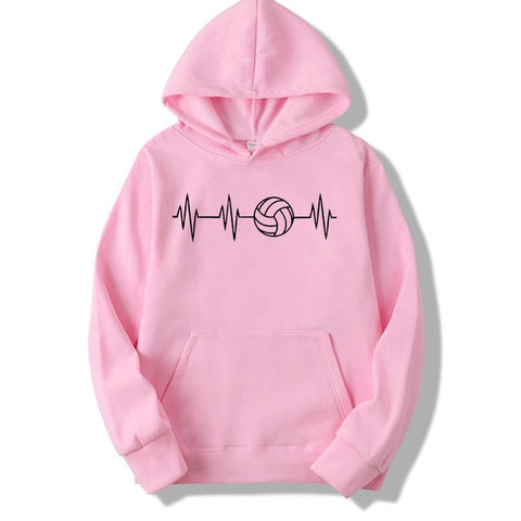 Heartbeat Of Volleyballer Sweatshirt hoodies