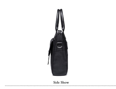 Briefcase Business  Leather Laptop handbags