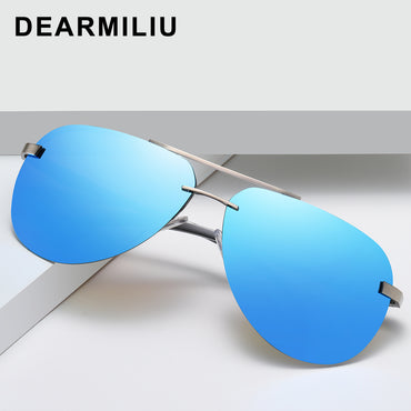 Alloy Frame Classic Driver Sunglasses