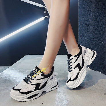 Chunky Sneakers Outdoor Walking  Shoes & Sneakers