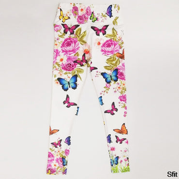 Digital Print Slim Leggings