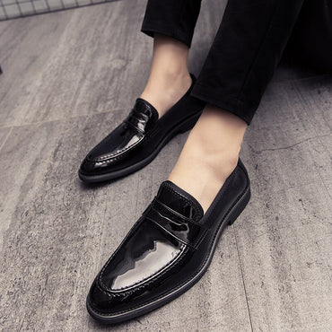 Loafers Leather Oxford Shoes