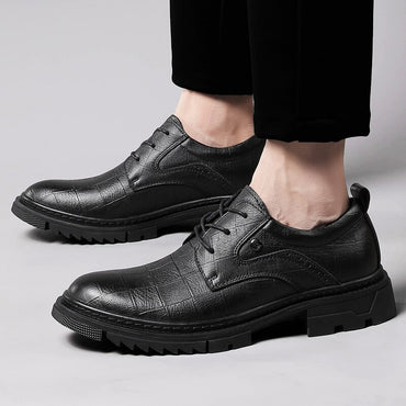 lace up Retro Brogue Oxford Shoes
