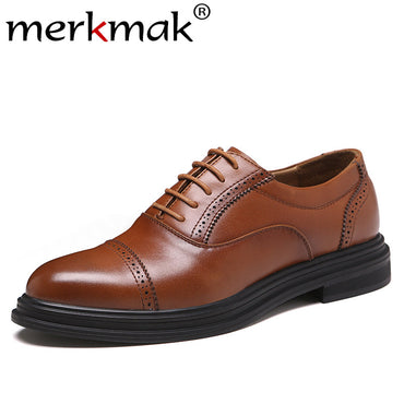 Lace-up Footwear Business Office Shoes Big Size Party Oxford Shoes