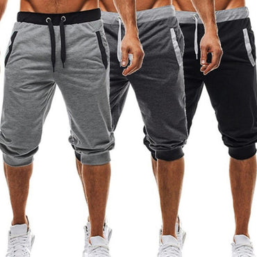 Casual Slim Harem Short Slacks Casual Soft Cotton Trousers Shorts  Pants